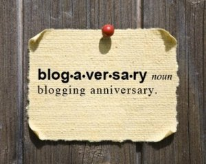 blogaversary sign